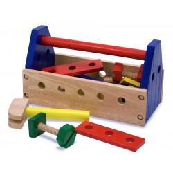 Edukacyjny zestaw drewnianych narzędzi - Mały Majsterkowicz Melissa &Doug