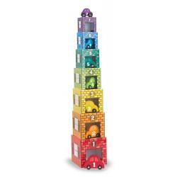 Piramida, wieża z samochodami Melissa & Doug