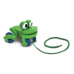 Pląsająca żabka do nauki chodzenia, Melissa&Doug