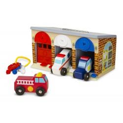 Garaż ratunkowy- autka i kluczyki, Melissa&Doug